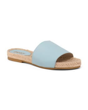 blue leather espadrilled 39.99