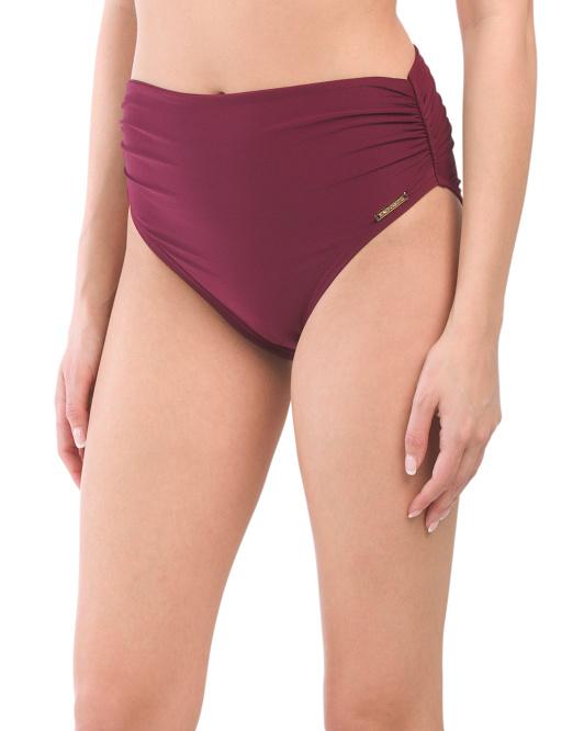 maroon bikini bottom 16.99