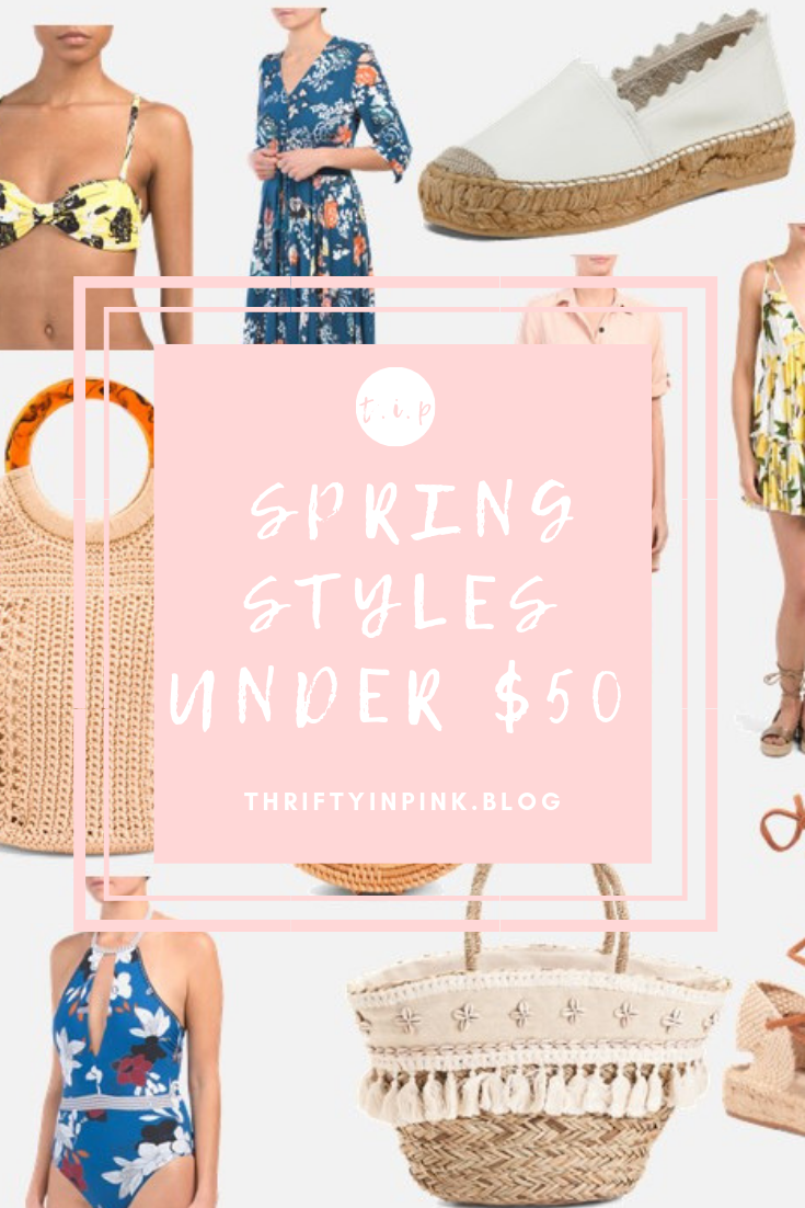 spring styles under 50 pin