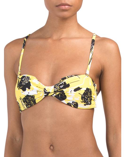 yellow bikini top 24.99